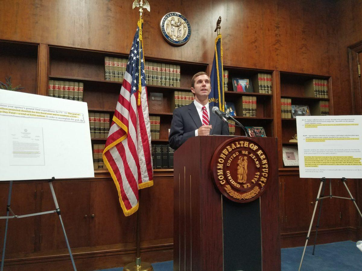 Beshear Sues Drug Maker For Pushing 'Highly Addictive' Opioid
