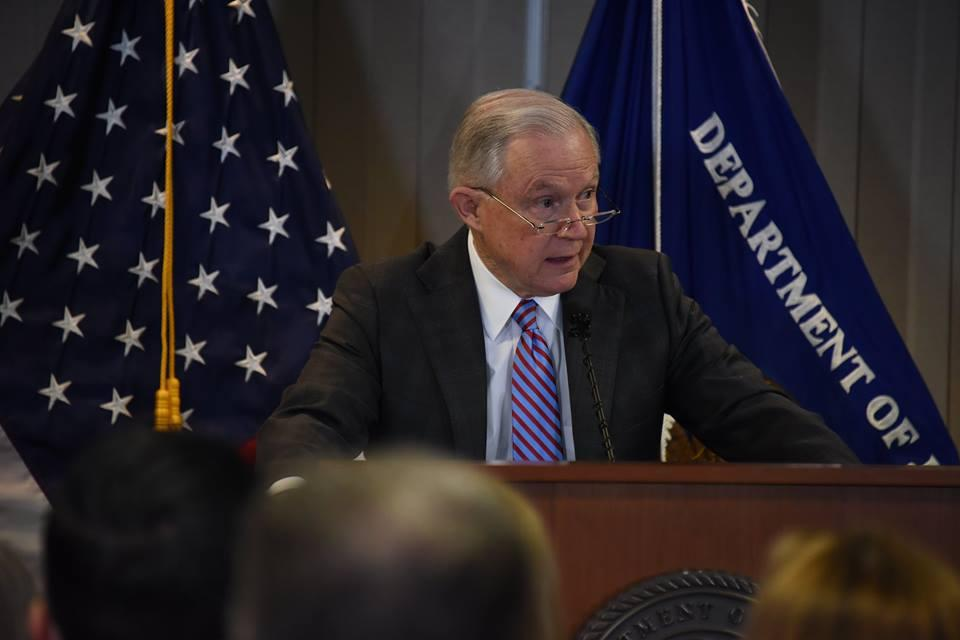 AG Jeff Sessions Announces New Policies to Combat Opioid Crisis