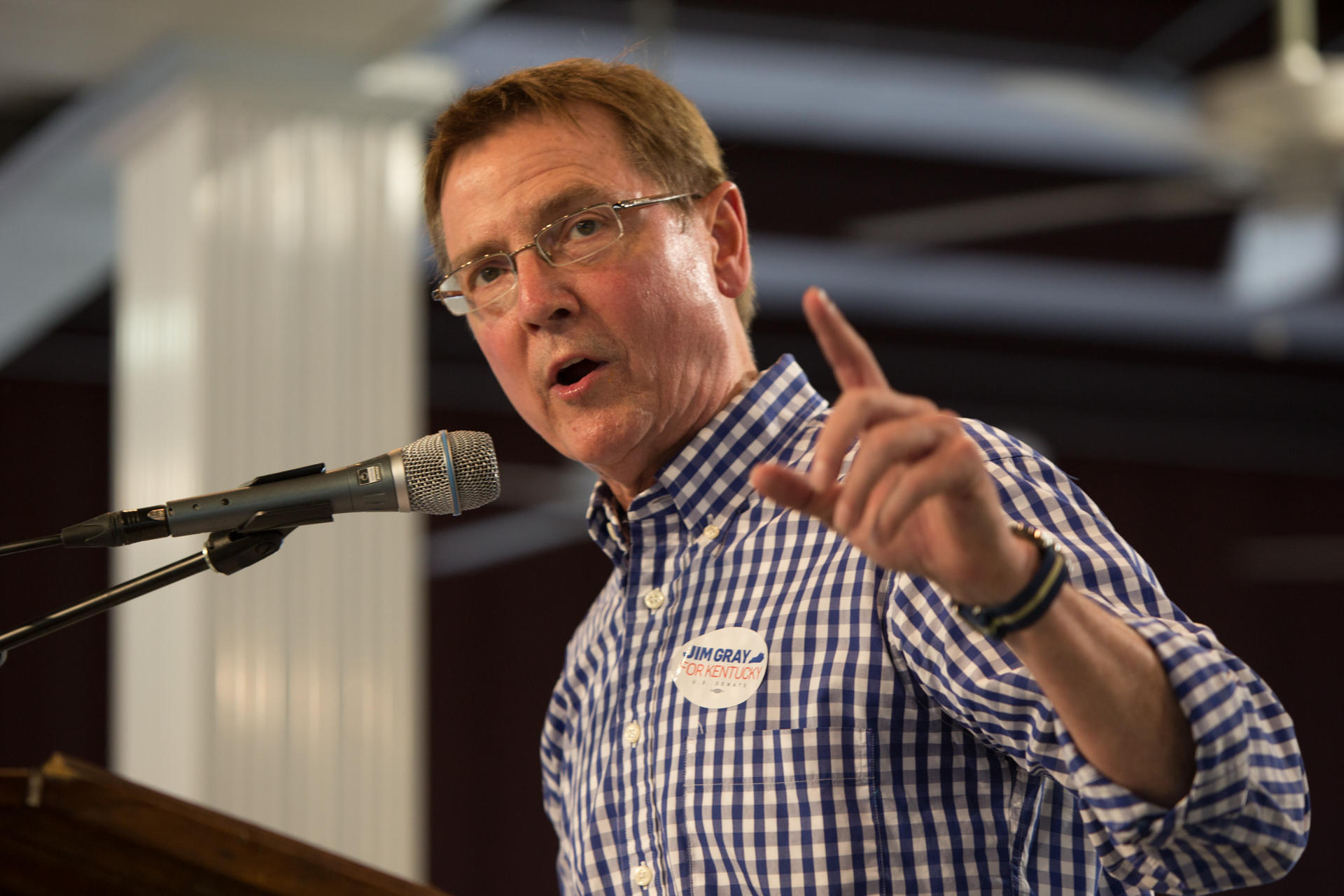 Mayor Gray Announces Run for Congress