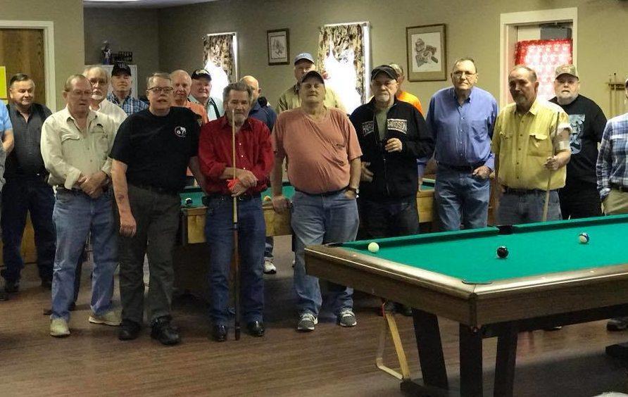 Snookered Pool Tournament Ban Has Seniors Wondering Who Calls The - Princeton pool table