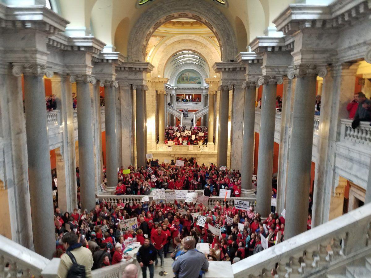 Kentucky legislature overrides governor's vetoes of budget, revenue bills