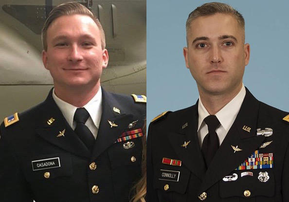 Fort Campbell identifies 2 soldiers killed in helicopter crash