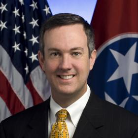 Tennessee Secretary of State Tre Hargett.