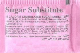 Not the REAL fake sugar.