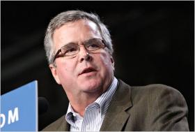Former Florida Governor Jeb Bush. After stepping down as governor in 2007, Bush created the Foundation for Excellence in Education, which advocates for school choice and higher standards in public education.