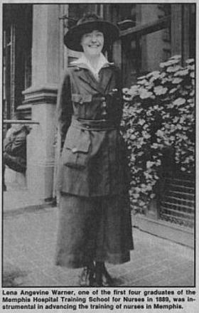 Lena Angevine Warner