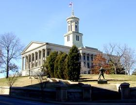The Tennessee Capitol building in Nashville.