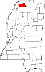 Tate County, Mississippi.