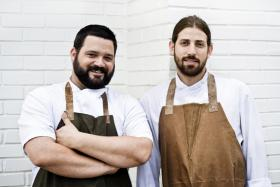 Chefs Michael Hudman (Left) and Andy Ticer (Right). Food & Wine named the duo among the 10 Best New Chefs in America for for the cuisine at Andrew Michael Italian Kitchen, 712 W. Brookhaven Circle.