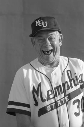 Bronson in the early 1980s when the University of Memphis was known as Memphis State University.