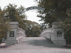The Bridge Leading to Elmwood Cemetery