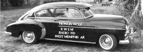 Howlin' Wolf was a regular on KWEM in the late 1940s and early 1950s. Although he had been singing on stages for years, the radio station helped him reach a larger audience.