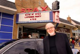 "Norbert Putnam played bass on the December recording session that Elvis held at Stax Records in 1973. Putnam is seen here at the album release party for ""Elvis at Stax"" on Tuesday, where he took part in a panel discussion."