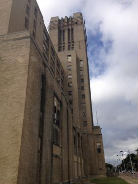 Abandoned for twenty years, the tower at Sears Crosstown has become a symbol of Memphis's urban decay.