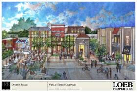 Design for the new Trimble Courtyard at Overton Square.