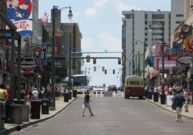 Beale St. Memphis, TN - 30 June 2010