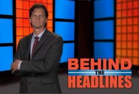Behind the Headlines Host Eric Barnes