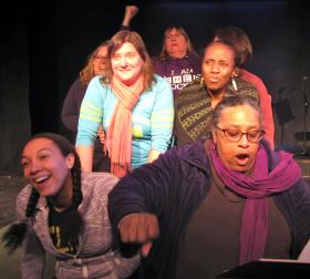 This semester, there will be four performances of Prison Stories. The first takes place in jail, for the entire prison population and families of class members. The other three, at TheatreSouth, are open to the public.