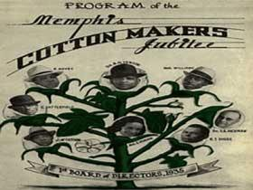 Program from the Cotton Makers' Jubilee