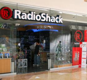 A Radio Shack retail location.
