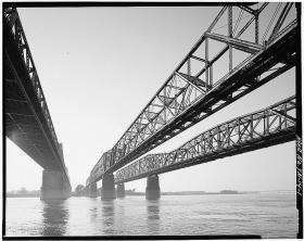 The Harahan Bridge in Memphis.