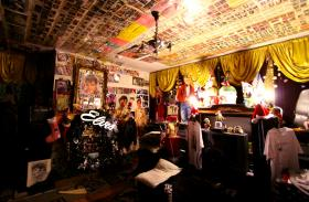 MacLeod's home was packed with Elvis memorabilia from floor to ceiling.
