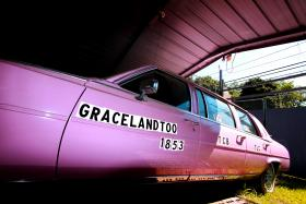 MacLeod owned several of the same model cars that Elvis might have driven. He also had a pink limousine.