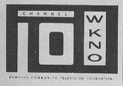 One of the older WKNO logos.