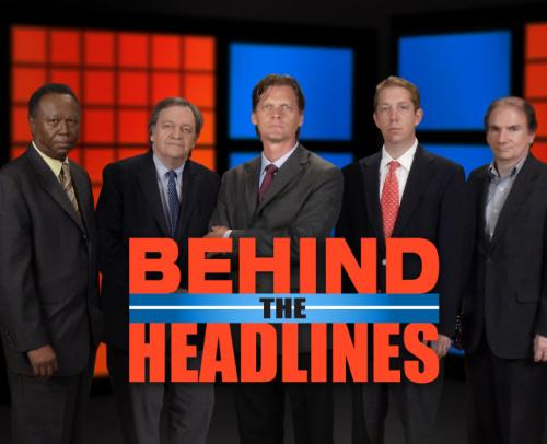 Behind the Headlines: Friday Evenings at 6:30 on WKNO TV 10