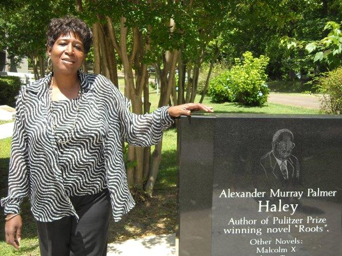 Beverly Johnson is related to Alex Haley. She is the Program Director at the Alex Haley House Museum and Interpretive Center.