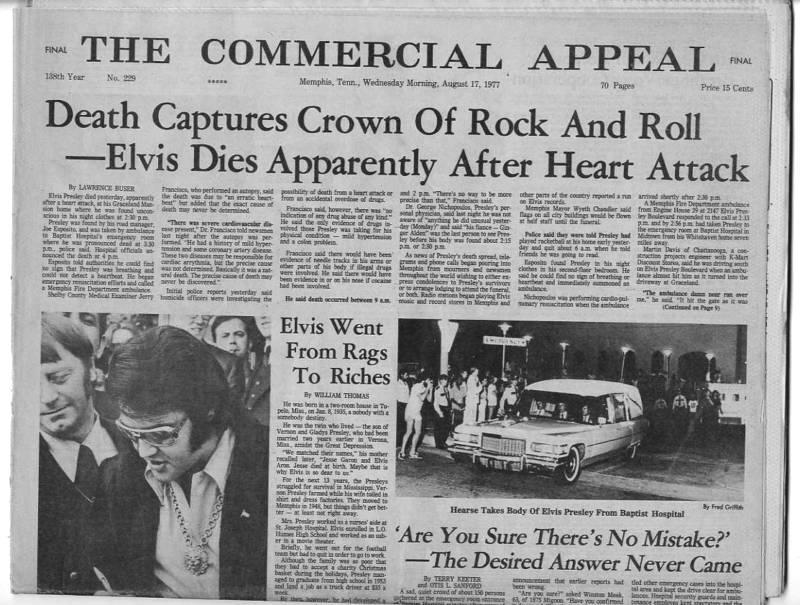 Elvis Presley's Death ...