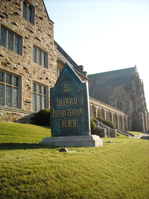 Idlewild Presbyterian Church on Union Ave.