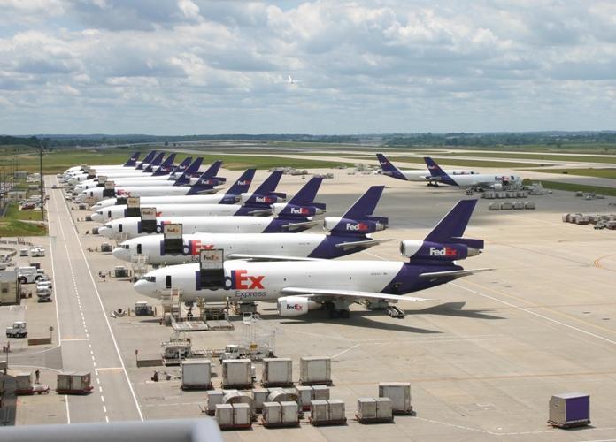 FedEx Express planes.