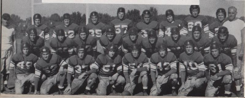 The 1942 Memphis football team was the largest in the school's history at the time with 56 players, but due to the draft lost team members throughout the season, contributing to its 2-7 record.