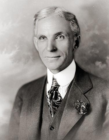 Portrait of Henry Ford - 1919
