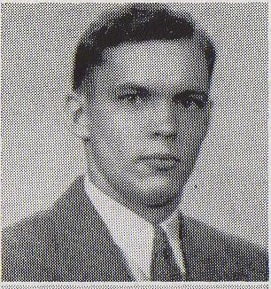 Robert Humphreys yearbook photo from his freshman year at Memphis State.