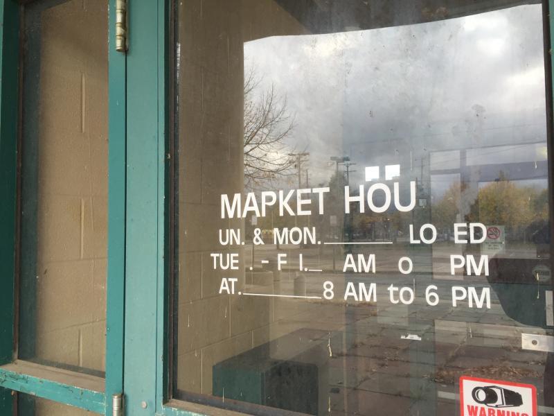 east side market sign