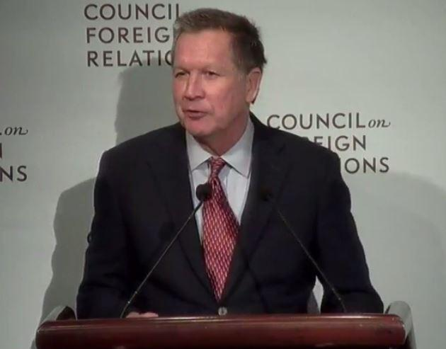 Kasich at the Council on Foreign Relations
