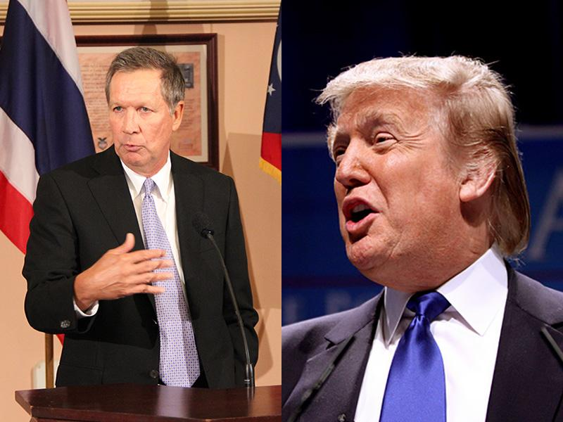 Kasich vs. Trump
