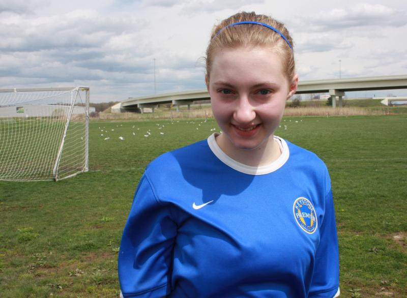 Bethany Jewell is completing an 18 month recovery period after her second ACL tear. The injuries have done nothing to dampen her love of the game of soccer.