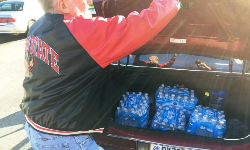 bottled water distribution