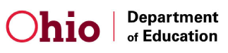 Ohio Dept. Of Education logo