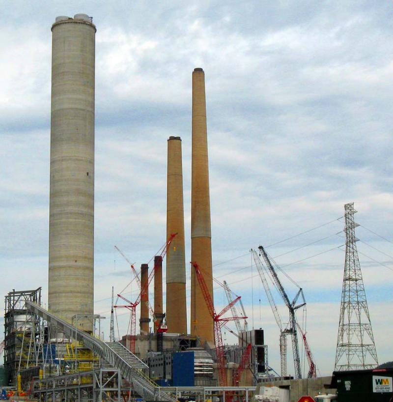 Photo of a FirstEnergy coal power plant