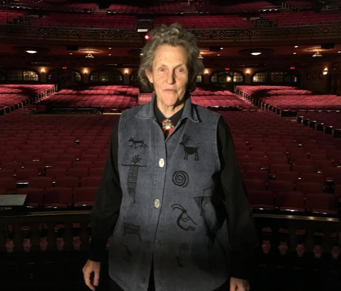 Temple Grandin is an accomplished animal behaviorist, author, professor, business owner and autism advocate. She spoke recently at the Akron Civic Theater.
