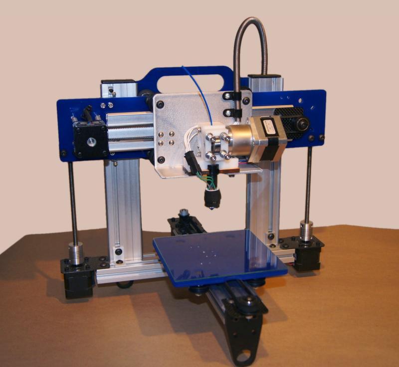 3-D printing equipment