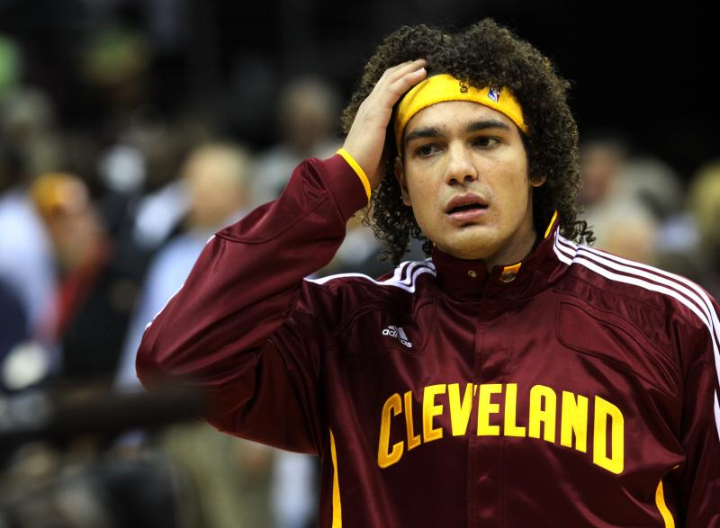 The Cavs traded 12-year veteran Anderson Varejao