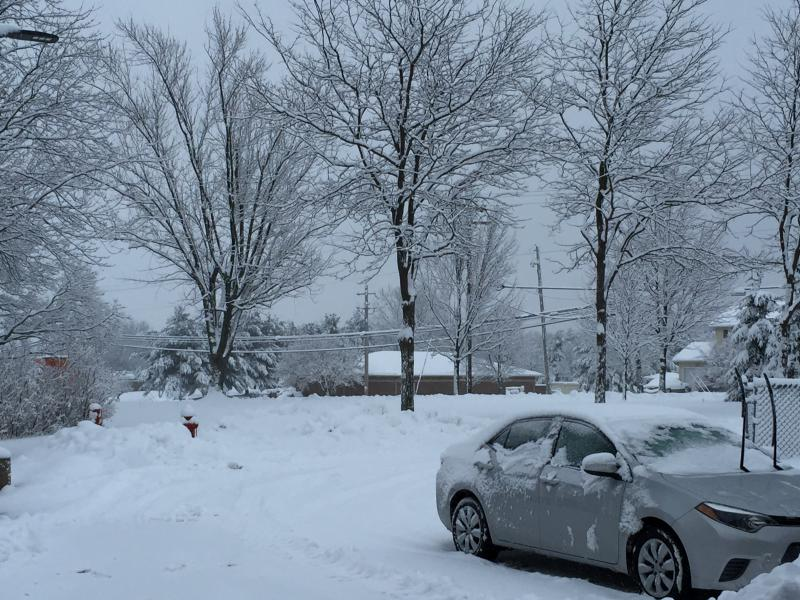 Photo of the winter weather in Northeast Ohio.