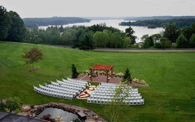 Wedding Venue at Atwood Lake Resort