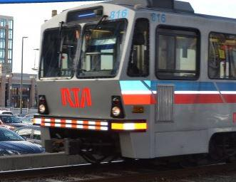 photo of RTA train