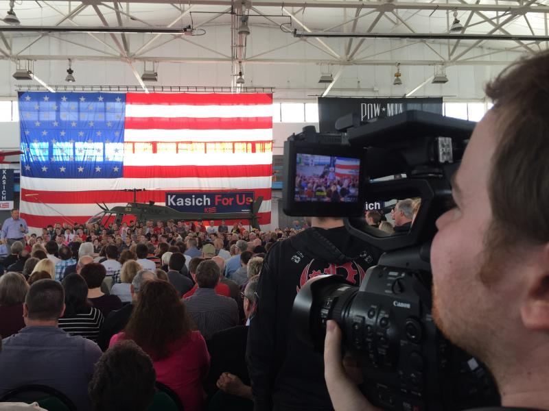 The lens on Kasich